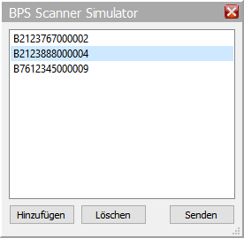 Scanner Simulator